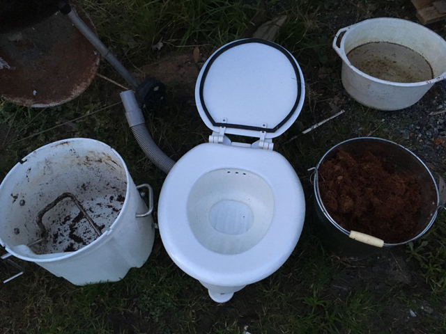 Airhead compost toilet tour